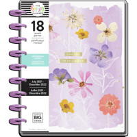 The Happy Planner - Me and My Big Ideas - Classic Happy Planner - 2021-2022 Life In Bloom - 18 Months (Dated, Horizontal)