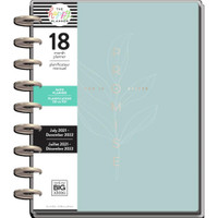 The Happy Planner - Me and My Big Ideas - Classic Happy Planner - 2021-2022 Simple Faith - 18 Months (Dated, Faith Layout)