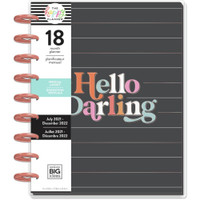 The Happy Planner - Me and My Big Ideas - Classic Happy Planner - 2021-2022 Oh Darling - 18 Months (Dated, Vertical)