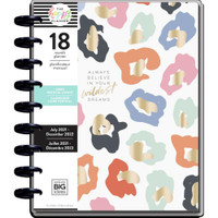 The Happy Planner - Me and My Big Ideas - Classic Happy Planner - 2021-2022 Colorful Leopard - 18 Months (Dated, Lined Vertical)