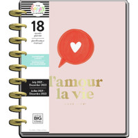 The Happy Planner - Me and My Big Ideas - Classic Happy Planner - 2021-2022 Love Life - 18 Months (Dated, Dashboard)