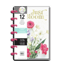 The Happy Planner - Me and My Big Ideas - Mini Happy Planner - 2021-2022 Just Bloom - 12 Months (Dated, Dashboard)