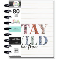 The Happy Planner - Me and My Big Ideas - Classic Guided Journal - Colorful Leopard