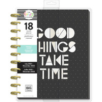 The Happy Planner - Me and My Big Ideas - Big Happy Planner - 2021-2022 Black & White - 18 Months (Dated, Vertical)