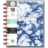 The Happy Planner - Me and My Big Ideas - Big Happy Planner - 2021-2022 Indigo - 18 Months (Dated, Vertical)