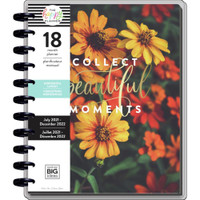 The Happy Planner - Me and My Big Ideas - Big Happy Planner - 2021-2022 Moody Florals - 18 Months (Dated, Horizontal)
