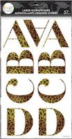The Happy Planner - Me and My Big Ideas - Cheetah Alphabet Stickers