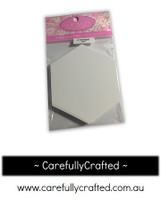 Sue Daley English Paper Piecing - 2 inch Hexagon - Paper Pieces - (Pack of 50)