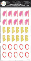 The Happy Planner - Me and My Big Ideas - Whimsical Brights Alphabet Stickers