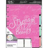 The Happy Planner - Me and My Big Ideas - Classic Extension Pack - Strength Is Beauty - Fitness