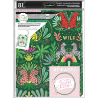 The Happy Planner - Me and My Big Ideas - Classic Planner Companion - Jungle Vibes
