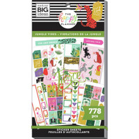 The Happy Planner - Me and My Big Ideas - Value Sticker Book - Jungle Vibes (#778)