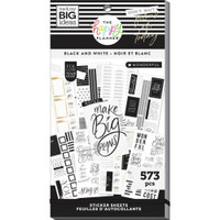 The Happy Planner - Me and My Big Ideas - Value Sticker Book - Black & White (#573)