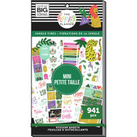 The Happy Planner - Me and My Big Ideas - Value Sticker Book - Jungle Vibes - Mini (#941)