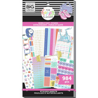 The Happy Planner - Me and My Big Ideas - Value Sticker Book - Work It Out (#984)