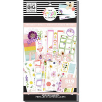 The Happy Planner - Me and My Big Ideas - Value Sticker Book - Pressed Florals (#519)