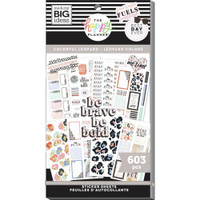 The Happy Planner - Me and My Big Ideas - Value Sticker Book - Colorful Leopard (#603)