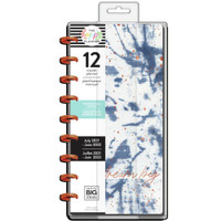 The Happy Planner - Me and My Big Ideas - Skinny Classic Happy Planner - 2021-2022 Indigo - 12 Months (Dated, Horizontal)