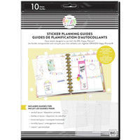 The Happy Planner - Me and My Big Ideas - Big - Clear Sticker Planning Guide