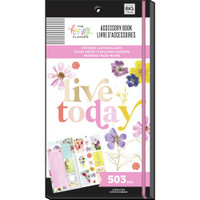 The Happy Planner - Me and My Big Ideas - Accessory Book - Pressed Florals