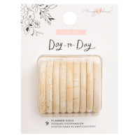 Maggie Holmes - Day-To-Day Planner Discs - Wood Effect (Large)