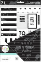 The Happy Planner - Me and My Big Ideas - Classic Accessory Pack - Black & White