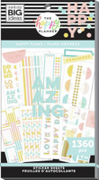 The Happy Planner - Me and My Big Ideas - Value Sticker Book - Pastel Reminders (#1360)