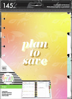 The Happy Planner - Me and My Big Ideas - Classic Extension Pack - Plan to Save - Budget