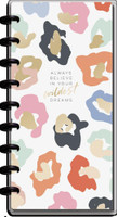 The Happy Planner - Me and My Big Ideas - Skinny Classic Happy Planner - 2021-2022 Colorful Leopard - 12 Months (Dated, Horizontal)
