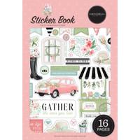 Echo Park Sticker Book - Flower Garden