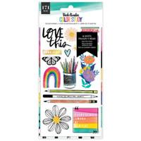Vicki Boutin - Sticker Book - Color Study
