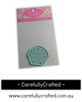 "Sue Daley English Paper Piecing - 3/4"" Hexagon Flower Petal - Template"