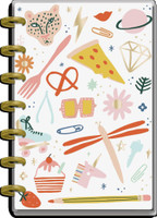 The Happy Planner - Me and My Big Ideas - Mini Happy Planner - 2021-2022 Life In Doodles - 12 Months (Dated, Horizontal)