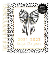 Capitol Chic Designs - 2021 - 2022 Seize the Year Spiral Planner - 18 Months (Dated, Vertical)