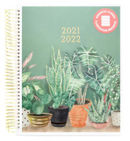 Recollections - 2021 - 2022 Medium Plant Planner - 18 Months (Dated, Horizontal)
