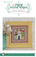 It's Sew Emma - Cross Stitch Pattern - Prim Series #7 - Faith & Endurance