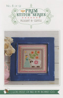It's Sew Emma - Cross Stitch Pattern - Prim Series #8 - Pleasant & Gentle