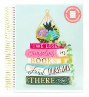 Recollections - 2020 - 2021 We Lose Ourselves in Books  Planner - 18 Months (Dated, Horizontal)