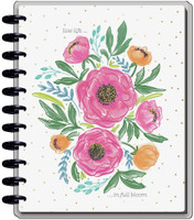 The Happy Planner - Me and My Big Ideas - Big Happy Planner - 2021-2022 Colorful Florals - 18 Months (Dated, Dashboard)