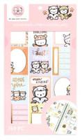 Craft Smith - OnceMoreWithLove - Sticker Book - Fur Friends