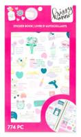 Craft Smith - Krissyanne Designs - Sticker Book - Self Care