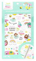 Craft Smith - Sweet Kawaii Design - Sticker Book - Positive Vibe
