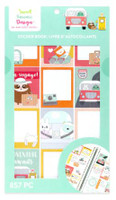Craft Smith - Sweet Kawaii Design - Sticker Book - Travel