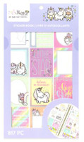 Craft Smith - Shine Sticker Studio - Sticker Book - Unicorn
