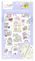 Craft Smith - Shine Sticker Studio - Sticker Book - Stay Home