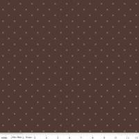 Riley Blake Fabric - Bee Cross Stitch - Lori Holt - Raisin #C745-RAISIN