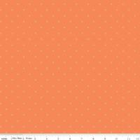 Riley Blake Fabric - Bee Cross Stitch - Lori Holt - Pumpkin #C745-PUMPKIN