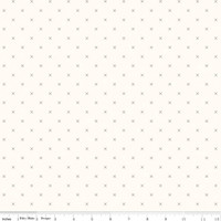 Riley Blake Fabric - Bee Cross Stitch - Lori Holt - Cloud Pebble #C747-PEBBLE