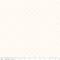 Riley Blake Fabric - Bee Cross Stitch - Lori Holt - Cloud Daisy #C747-DAISY