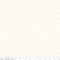 Riley Blake Fabric - Bee Cross Stitch - Lori Holt - Cloud Alpine #C747-ALPINE